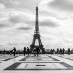 La Tour Eiffel. Source : http://thegouldcollection.com/parisphoto/